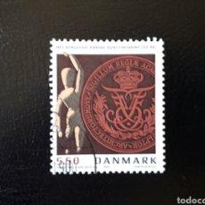 Selos: DINAMARCA. YVERT 1371. SERIE COMPLETA USADA. ACADEMIA DE BELLAS ARTES. Lote 125127975