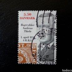 Briefmarken - DINAMARCA. YVERT 1275. SELLO SUELTO USADO. SELLOS SOBRE SELLOS - 125129722