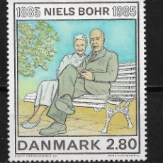 Sellos: DINAMARCA 1985 NIELS BOHR (1885-1962), PHYSICIST MNH - 5/2. Lote 125227799