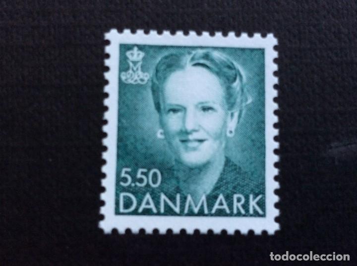 DINAMARCA Nº YVERT 1073***AÑO 1994. SERIE CORRIENTE. REINA MARGARITA II (Sellos - Extranjero - Europa - Dinamarca)