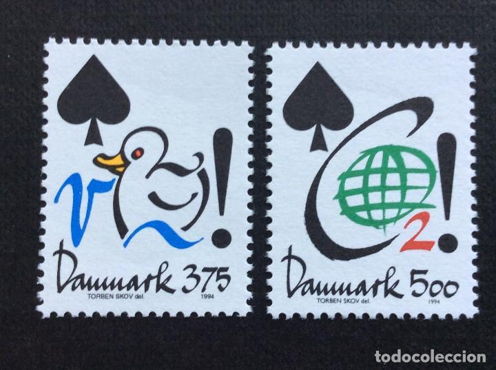DINAMARCA Nº YVERT 1074/5***AÑO 1994. ECOLOGIA. AGUA Y DIOXIDO DE CARBONO (Sellos - Extranjero - Europa - Dinamarca)