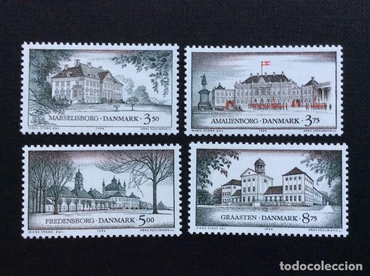 DINAMARCA Nº YVERT 1076/9***AÑO 1994. CASTILLOS. RESIDENCIAS REALES DANESAS (Sellos - Extranjero - Europa - Dinamarca)