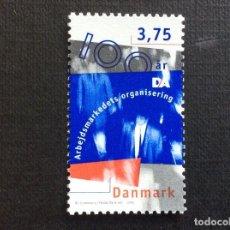 Sellos: DINAMARCA Nº YVERT 1127***AÑO 1996. CENTENARIO DEL SINDICATO PATRONAL DANES. Lote 143658182