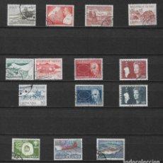 Sellos: GROENLANDIA LOTE SELLOS USADOS - 2/15. Lote 144635654