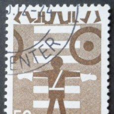 Sellos: 1970 DINAMARCA SEGURIDAD VIAL. Lote 146417986