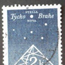 Sellos: 1973 DINAMARCA III CENTENARIO DE LA PUBLICACIÓN DE STELLA NOVA. Lote 146440214