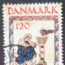 Sellos: 1973 DINAMARCA III CENTENARIO DE LA REAL BIBLIOTECA. Lote 146440642