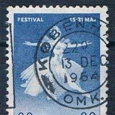 Sellos: DINAMARCA 1962 Y 411 SELLO USADO SERIE. Lote 146444938