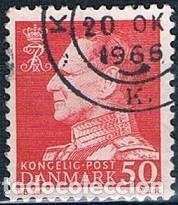 DINAMARCA 1965 Y 423 SELLO USADO (Sellos - Extranjero - Europa - Dinamarca)