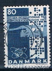 DINAMARCA 1965 Y 439 SELLO USADO SERIE (Sellos - Extranjero - Europa - Dinamarca)