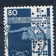 Sellos: DINAMARCA 1965 Y 439 SELLO USADO SERIE. Lote 146445802