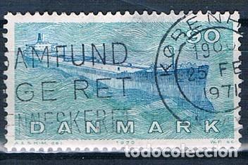 DINAMARCA 1970 Y 511 SELLO USADO (Sellos - Extranjero - Europa - Dinamarca)