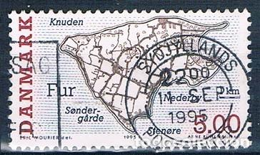 DINAMARCA 1995 Y 1101 SELLO USADO (Sellos - Extranjero - Europa - Dinamarca)