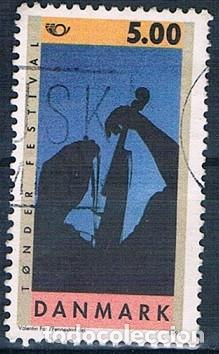DINAMARCA 1995 Y 1109 SELLO USADO (Sellos - Extranjero - Europa - Dinamarca)
