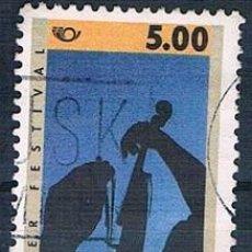 Sellos: DINAMARCA 1995 Y 1109 SELLO USADO. Lote 146446962