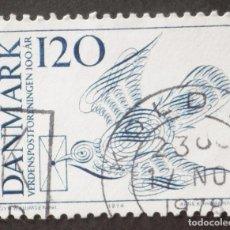 Sellos: 1974 DINAMARCA I CENTENARIO UNIÓN POSTAL UNIVERSAL. Lote 147066942
