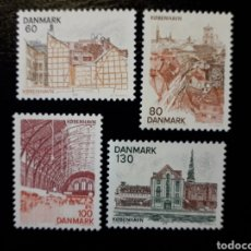 Sellos: DINAMARCA. YVERT 619/22 SERIE COMPLETA NUEVA SIN CHARNELA. PAISAJES DE COPENHAGUE.. Lote 147558108