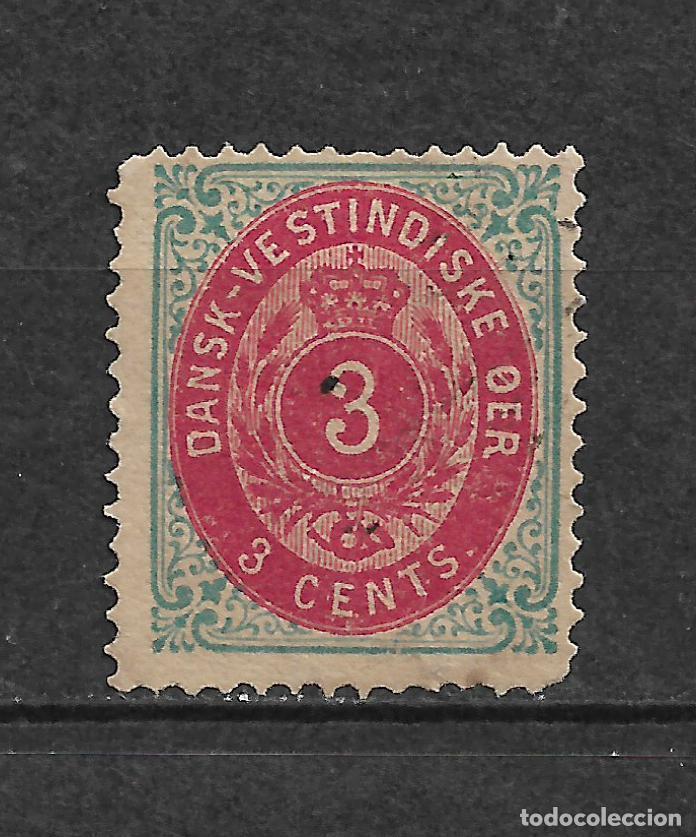 DANISH WEST INDIES 1874-79 SC# 6 A USADO - 3/45 (Sellos - Extranjero - Europa - Dinamarca)