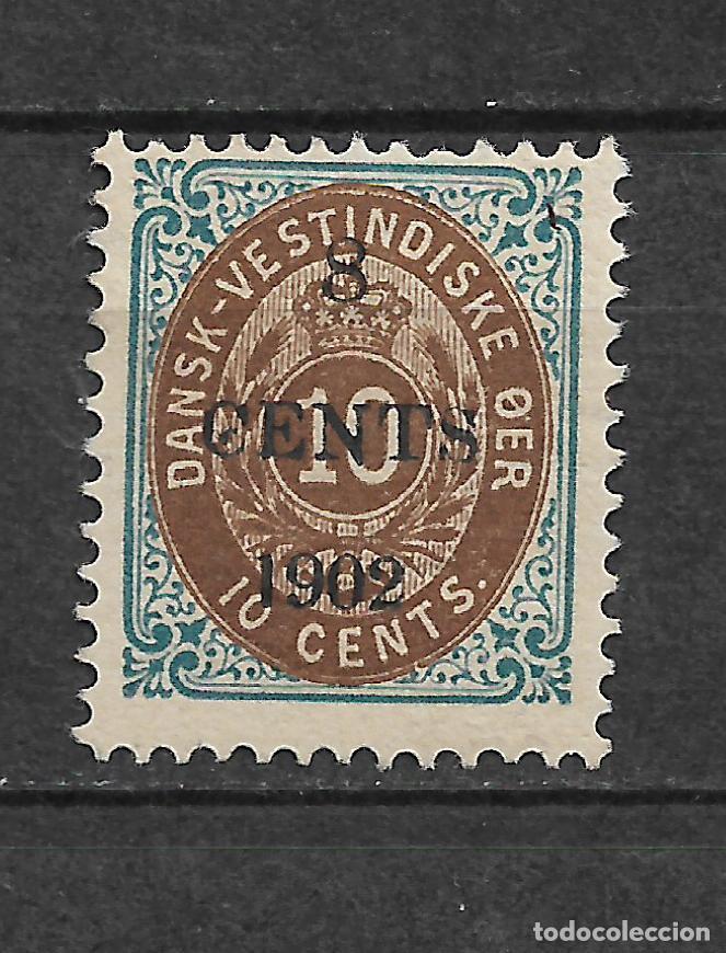 DANISH WEST INDIES 1902 SC# 25 A * MH - 3/45 (Sellos - Extranjero - Europa - Dinamarca)
