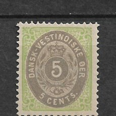 Sellos: DANISH WEST INDIES 1874-79 SC# 8 B * MH - 3/45. Lote 147920654