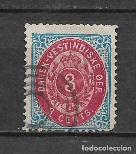 DANISH WEST INDIES 1874-79 SC# 6 E USED - 3/45 (Sellos - Extranjero - Europa - Dinamarca)