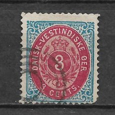 Sellos: DANISH WEST INDIES 1874-79 SC# 6 E USED - 3/45. Lote 147921146