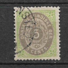 Sellos: DANISH WEST INDIES 1874-79 SC# 8 USADO - 3/45. Lote 147921226