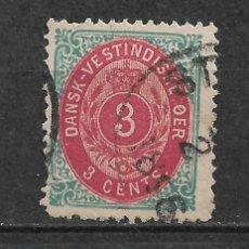 Sellos: DANISH WEST INDIES 1874-79 SC# 6 USADO - 3/45. Lote 147921434