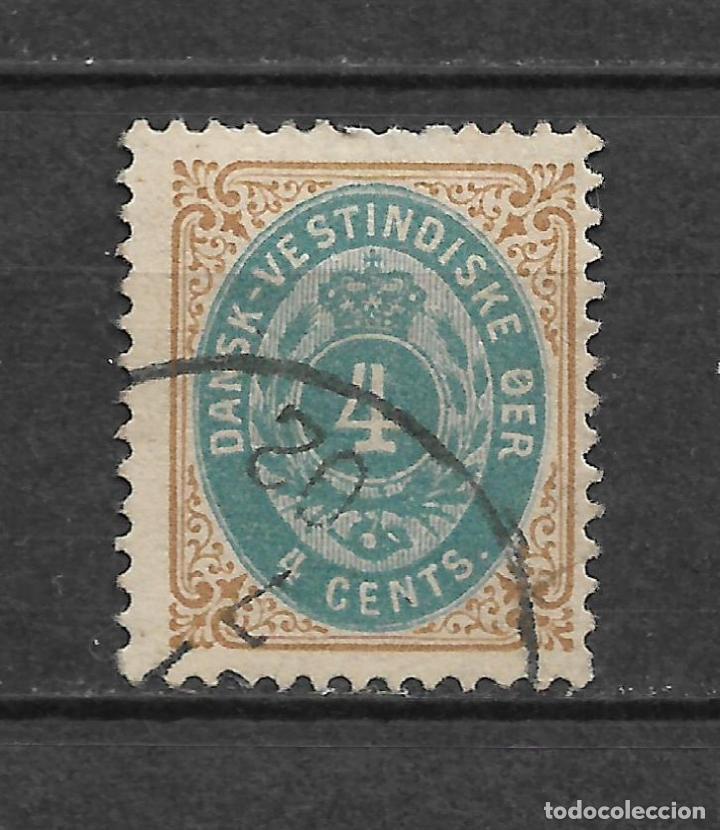 DANISH WEST INDIES 1874-79 SC# 7 USADO - 3/45 (Sellos - Extranjero - Europa - Dinamarca)