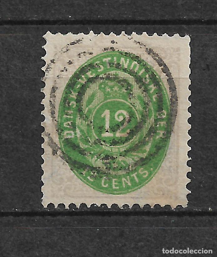 DANISH WEST INDIES 1874-79 SC# 11 USADO - 3/45 (Sellos - Extranjero - Europa - Dinamarca)