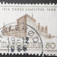 Sellos: 1969 DINAMARCA 50 ANIVERSARIO ASOCIACIÓN DANESES ULTRAMAR. Lote 148240994