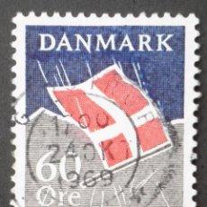 Sellos: 1969 DINAMARCA VII CENTENARIO BANDERA NACIONAL. Lote 148241318