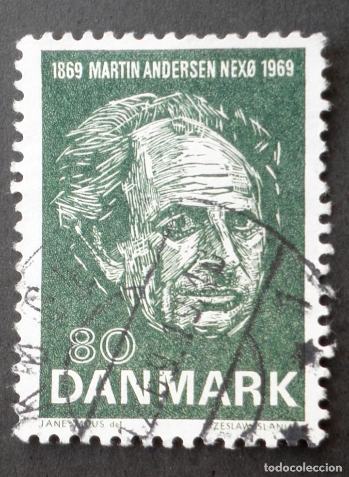 1969 DINAMARCA I CENTENARIO NACIMIENTO MARTIN ANDERSEN (Sellos - Extranjero - Europa - Dinamarca)