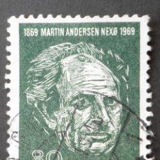 Sellos: 1969 DINAMARCA I CENTENARIO NACIMIENTO MARTIN ANDERSEN. Lote 148241678