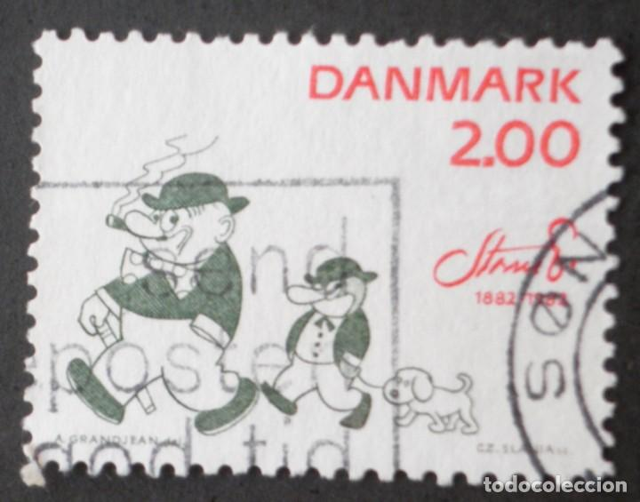 1982 DINAMARCA I CENTENARIO NACIMIENTO ROBERT STORM PETERSEN (Sellos - Extranjero - Europa - Dinamarca)