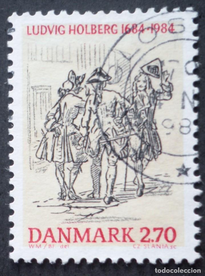 1984 DINAMARCA III CENTENARIO NACIMIENTO LUDVIG HOLBERG (Sellos - Extranjero - Europa - Dinamarca)