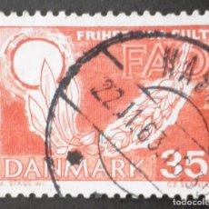 Sellos: 1963 DINAMARCA CAMPAÑA MUNDIAL CONTRA EL HAMBRE. Lote 150461098