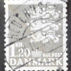 Briefmarken - 1971 Dinamarca Escudo nacional - 155992494