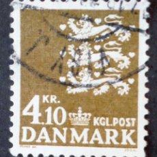 Briefmarken - 1970 Dinamarca Escudo nacional - 157769926