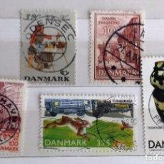 Briefmarken - DINAMARCA, LOTE 5 SELLOS USADOS - 158347410