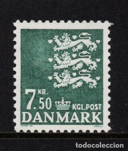 DINAMARCA 1182** - AÑO 1998 - ESCUDO NACIONAL (Sellos - Extranjero - Europa - Dinamarca)