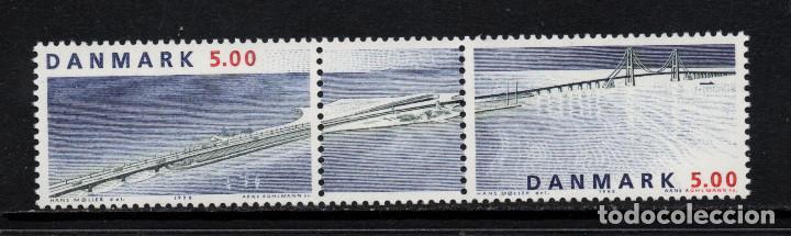DINAMARCA 1185/86** - AÑO 1998 - PUENTE DE GRAN BELT (Sellos - Extranjero - Europa - Dinamarca)