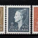 Sellos: DINAMARCA 1179/81** - AÑO 1998 - REINA MARGHRETHE II. Lote 159247682