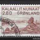 Sellos: GROENLANDIA 1987 - PINTURA, PETER ROSING - SELLO USADO. Lote 159401246