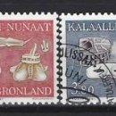 Sellos: GROENLANDIA 1987 - ETNOGRAFÍA, S.COMPLETA - SELLOS USADOS. Lote 159401542