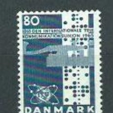 Sellos: DINAMARCA - CORREO 1965 YVERT 439 ** MNH UIT. Lote 162939601