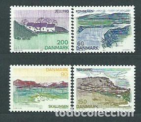 DINAMARCA - CORREO 1977 YVERT 642/5 ** MNH (Sellos - Extranjero - Europa - Dinamarca)