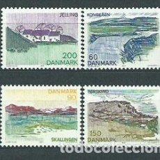 Selos: DINAMARCA - CORREO 1977 YVERT 642/5 ** MNH. Lote 162940082
