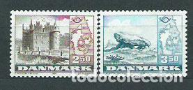 DINAMARCA - CORREO 1983 YVERT 775/6 ** MNH CASTILLO (Sellos - Extranjero - Europa - Dinamarca)