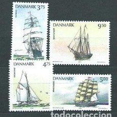 Briefmarken - Dinamarca - Correo 1993 Yvert 1059/62 ** Mnh Barcos - 162941260